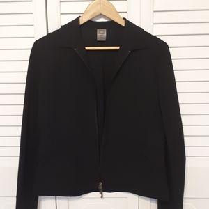 REI Black jacket. Size M. Nylon and Spandex.